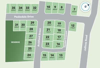 Generation Homes Subdivision Peakedale Estate