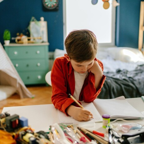 Home learning spaces for kids