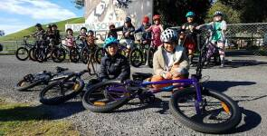 New bikes for all Pukehina School pupils