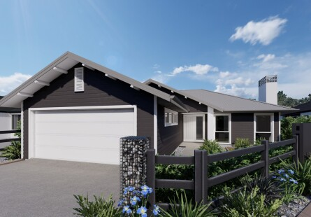 Generation Homes Auckland North House and Land Packages - Four Bedroom Classic Country Home