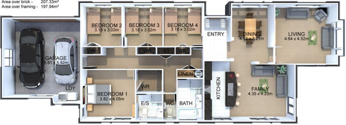 Generation Homes Plan Carrington