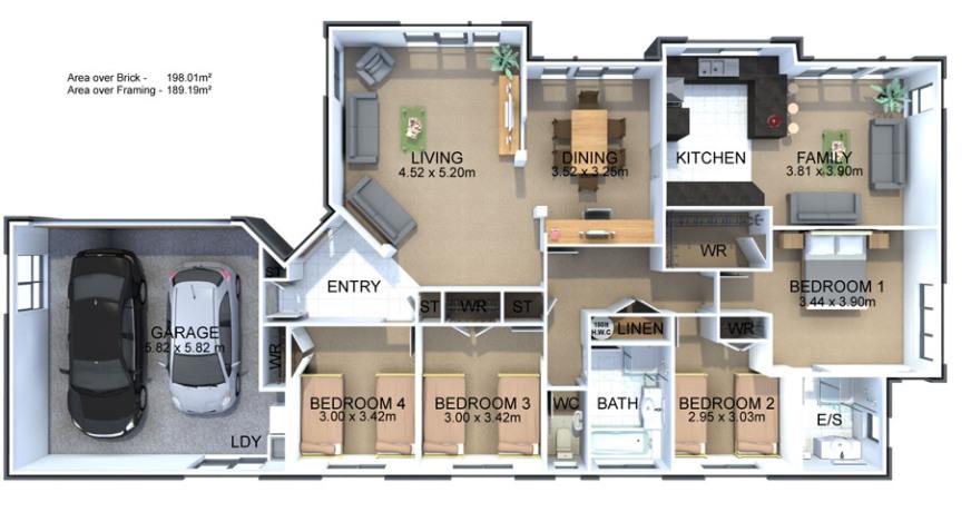 Generation Homes Plan Durham