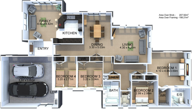 Generation Homes Plan Franklin