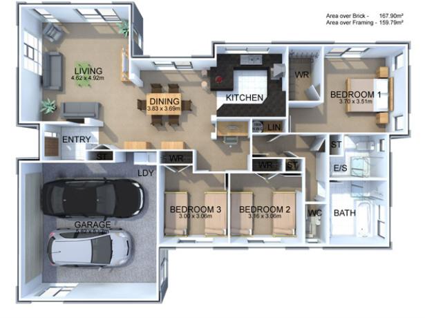 Generation Homes Plan Freesia