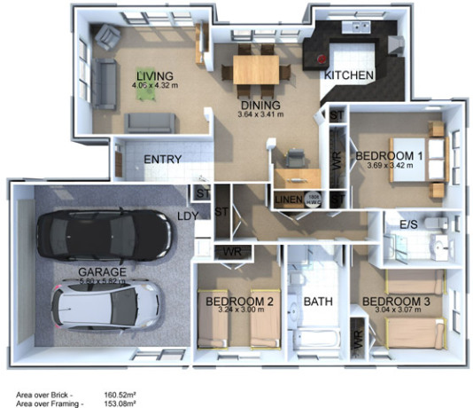 Generation Homes Plan Grevillia