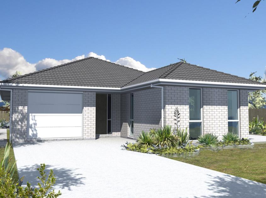 Aurora 2 Bedroom House Plan Generation Homes NZ