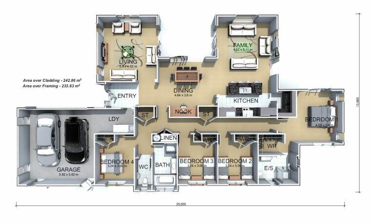 Generation Homes Plan Kaimai
