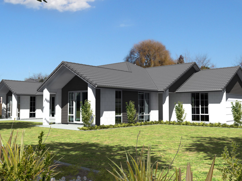 Cambridge 4 bedroom house plan generation homes nz for 4 bedroom house plans nz