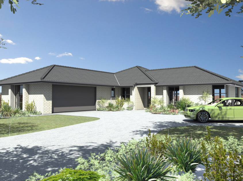 Carina 4 Bedroom House Plan Generation Homes Nz