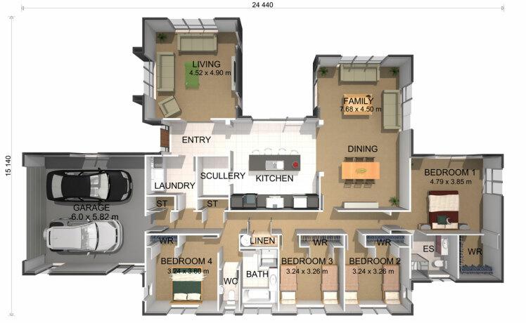 Generation Homes Plan Sando