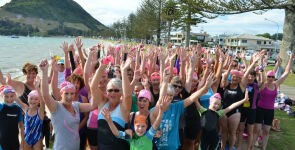 Triathlon empowers women to 'have a go'