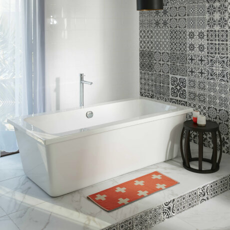 Bathrooms trends showcase modern, contemporary spaces