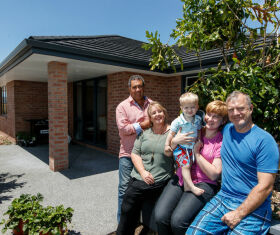 Generation Homes Northland client reference - Auckland investors build flexible 70s-inspired home in Northland