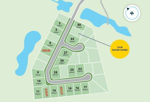 Generation Homes Subdivision The Drive