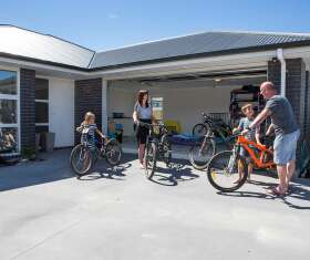 Generation Homes Rotorua / Taupo client reference - Outdoor lifestyle of new Taupo development attracts young family