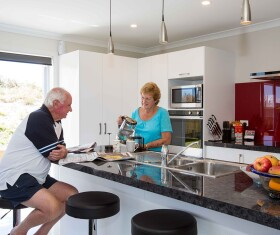 Generation Homes Rotorua / Taupo client reference - Taupo's holiday appeal attracts retirees seeking a relaxed outdoor