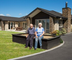 Generation Homes Hamilton & Waikato North client reference - Retirees trade Christchurch for Hamilton to build dream home