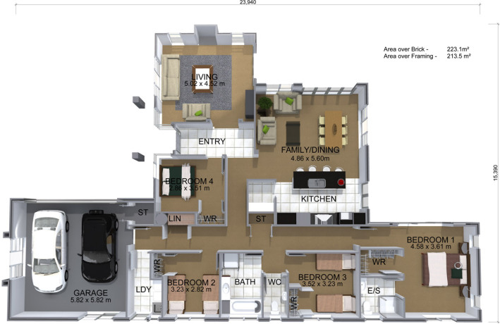 Generation Homes Package Lot 352 - Nga Roto Estate