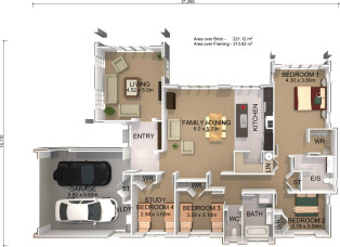 Generation Homes Package Lot 362 - Cambridge Plan