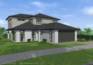 Generation Homes Auckland North House and Land Packages - Lot 375 -84 Ormonde Drive Millwater