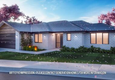 Generation Homes Christchurch House and Land Packages - Lot 12 - East Maddisons Estate
