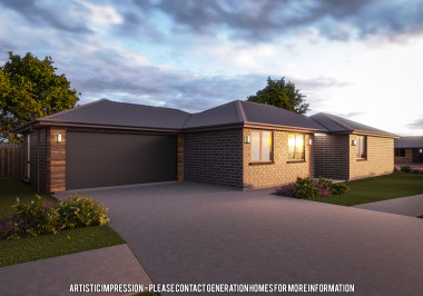 Generation Homes Christchurch House and Land Packages - Lot 22 - Devon Green, Rolleston (Under Offer)