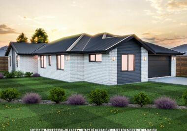 Generation Homes Christchurch House and Land Packages - Lot 9 - Copper Ridge