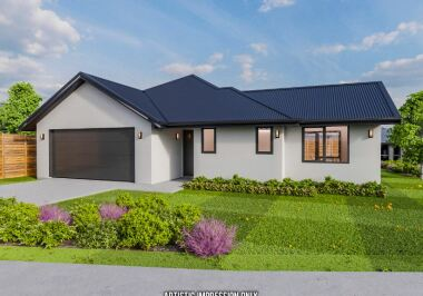 Generation Homes Christchurch House and Land Packages - Lot 15 - Copper Ridge (Under Offer)