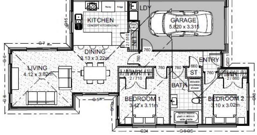 Generation Homes Package Lot 68a - Copper Ridge