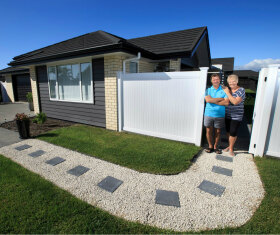 Generation Homes Auckland North client reference - Thinking of downsizing? Build a modern new home and enjoy life