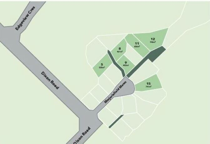 Generation Homes Package Lot 8 - Edgeview - Stage 5 Dixon Road