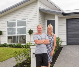 Generation Homes Auckland North client reference - Kiwisaver helps first home buyers build dream home in Riverhead