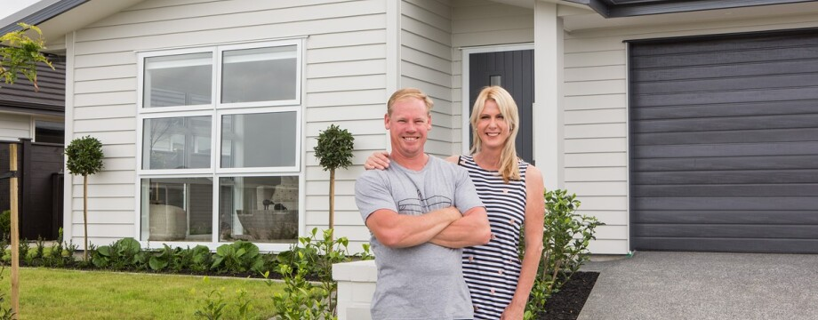 Kiwisaver helps first home buyers build dream home in Riverhead