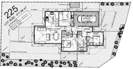 Generation Homes Package Lot 225 - Branthwaite Stage A
