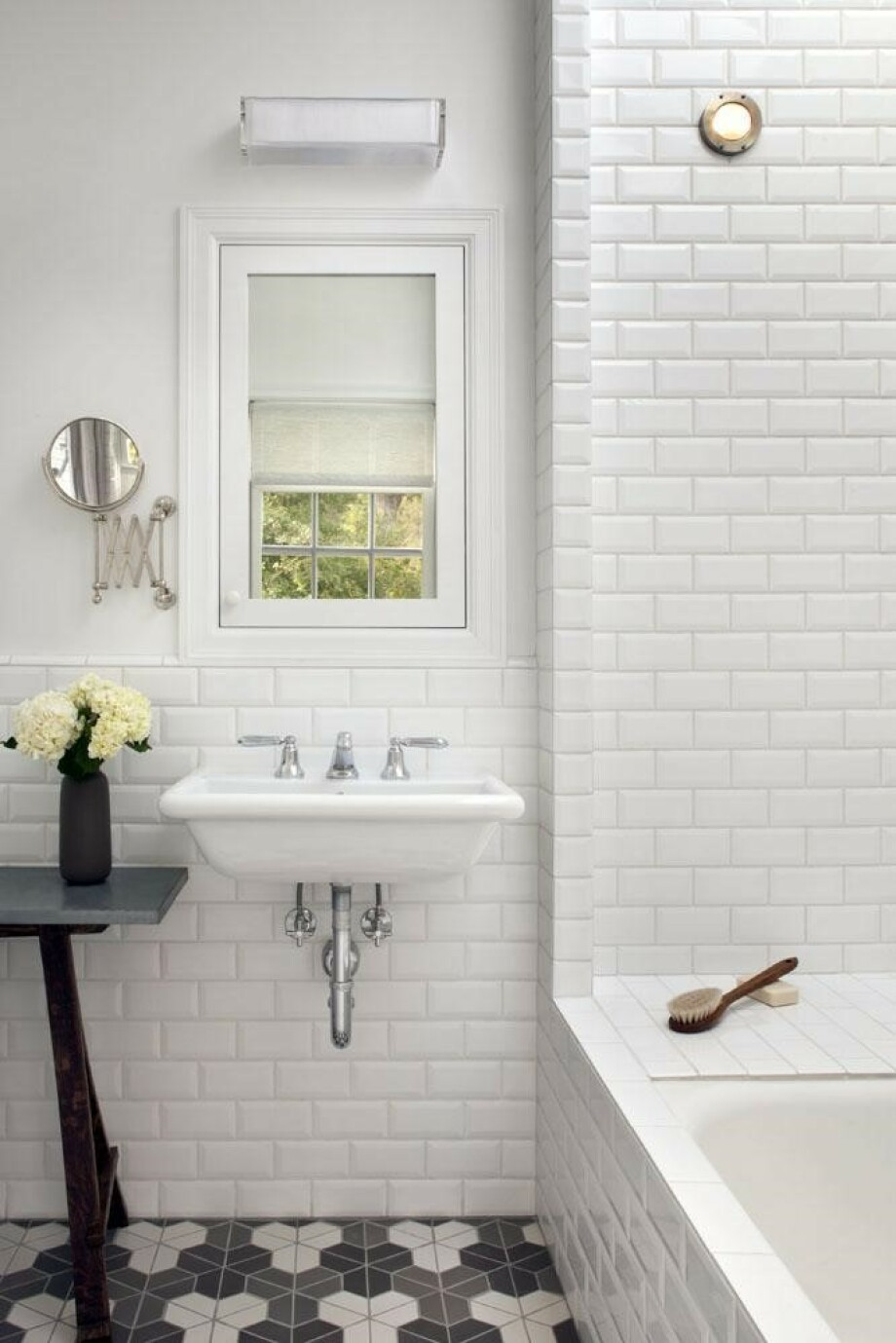 Reinvigorating Old Bathroom Tiles