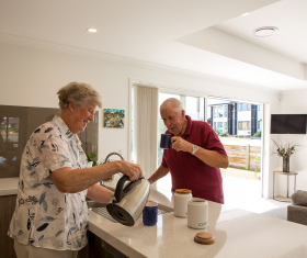 Generation Homes Auckland North client reference - Outdoor lifestyle and location of Riverhead development attracts retired couple