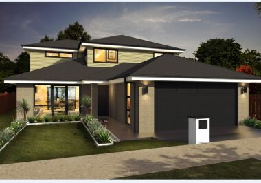 Generation Homes Auckland North House and Land Packages - Elevated, Two Level, Affordable  Family Home !