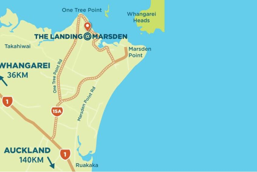 The Landing@Marsden Subdivision Marsden Cove Northland