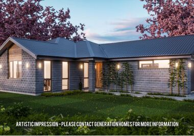 Generation Homes Christchurch House and Land Packages - Lot 137 - Branthwaite 3 Bed stunner