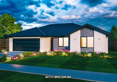 Generation Homes Christchurch House and Land Packages - Lot 152 - Branthwaite Affordable family 4 bed