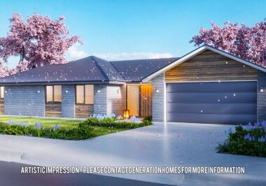 Generation Homes Christchurch House and Land Packages - Lot 149 - 3 bed in Branthwaite