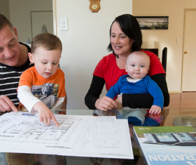 Generation Homes Hamilton & Waikato North client reference - Budding family builds future with Generation Homes