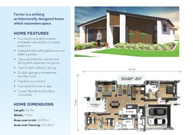 Generation Homes Rotorua / Taupo House and Land Packages - Lot 77: Huka Heights