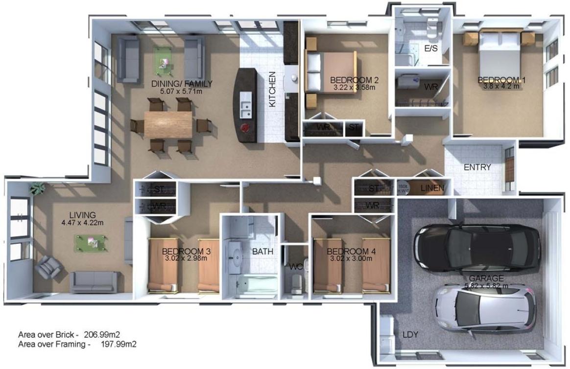 Generation Homes Plan Columba