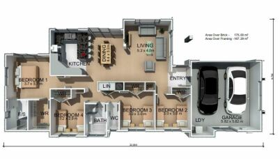 Generation Homes Package Lot 21 - East Bank Estate