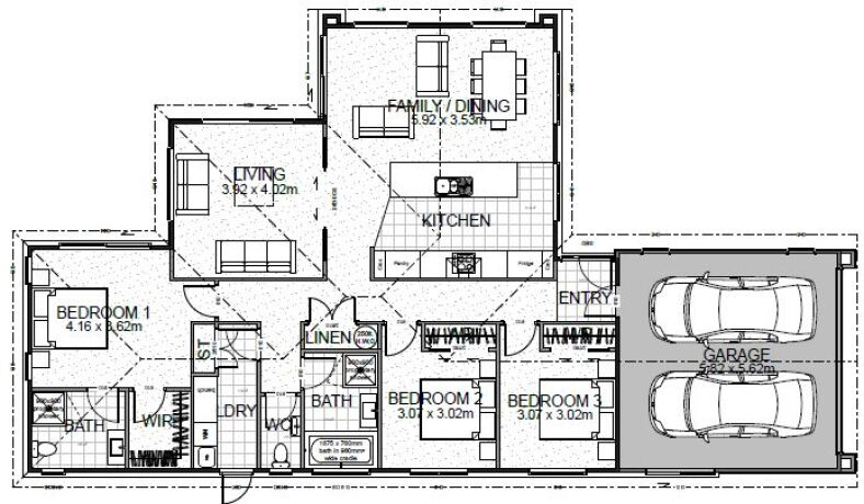 Generation Homes Package Lot 21 - Copper Ridge 3 bed