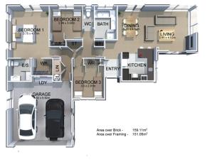 Generation Homes Package Lot 14 Maple Drive Estate, Putaruru