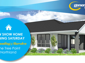 Generation Homes Plan Our new Show Home - Opening on Saturday 9 February