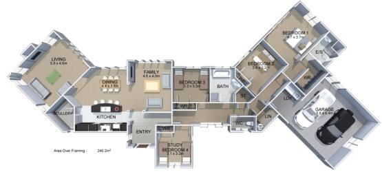 Generation Homes Plan Catalina