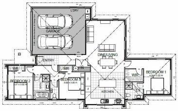 Generation Homes Package Lot 44 - Copper Ridge 3 bedroom